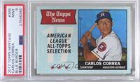 All-Star - Carlos Correa [PSA9MINT] #/50