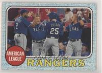 Texas Rangers #/50