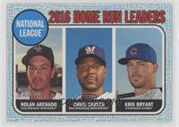 League Leaders - Chris Carter, Nolan Arenado, Kris Bryant /50