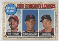 League Leaders - Robbie Ray, Madison Bumgarner, Max Scherzer