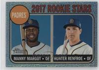 Manny Margot, Hunter Renfroe #/68