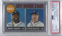 Manny Margot, Hunter Renfroe [PSA 10 GEM MT]