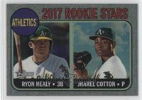 Ryon Healy, Jharel Cotton