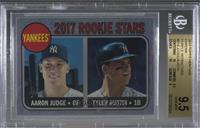 Tyler Austin, Aaron Judge [BGS 9.5 GEM MINT]