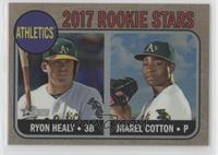 Ryon Healy, Jharel Cotton /568