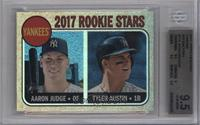 Tyler Austin, Aaron Judge [BGS 9.5 GEM MINT] #/568