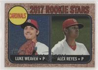Luke Weaver, Alex Reyes #/999