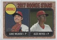 Luke Weaver, Alex Reyes #/999