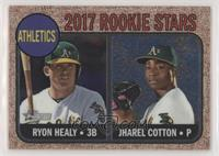 Ryon Healy, Jharel Cotton [EX to NM] #/999