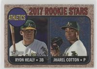 Ryon Healy, Jharel Cotton #/999