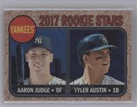 Tyler Austin, Aaron Judge /999 [Mint]