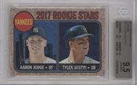 Tyler Austin, Aaron Judge [BGS 9.5 GEM MINT] #/999