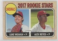 Rookie Stars - Luke Weaver, Alex Reyes