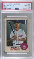 Mookie Betts [PSA 10 GEM MT] #/100