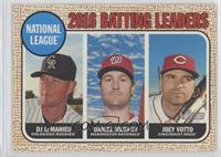 League Leaders - DJ LeMahieu, Joey Votto, Daniel Murphy