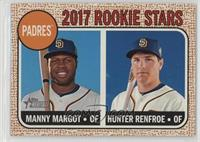 Rookie Stars - Manny Margot, Hunter Renfroe