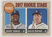 Rookie Stars - Manny Margot, Hunter Renfroe
