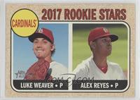 Rookie Stars - Luke Weaver, Alex Reyes (Base)