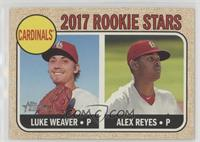 Rookie Stars - Luke Weaver, Alex Reyes (Base)