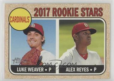 2017 Topps Heritage - [Base] #162.1 - Rookie Stars - Luke Weaver, Alex Reyes (Base)