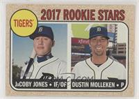 Rookie Stars - Dustin Molleken, JaCoby Jones