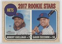 Rookie Stars - Gavin Cecchini, Robert Gsellman