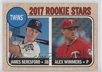 Rookie Stars - James Beresford, Alex Wimmers