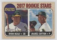 Rookie Stars - Jharel Cotton, Ryon Healy