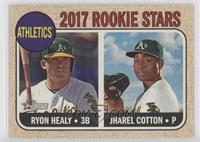 Rookie Stars - Jharel Cotton, Ryon Healy