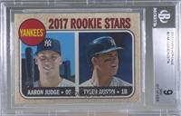 Rookie Stars - Aaron Judge, Tyler Austin (Base) [BGS9MINT]