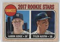 Rookie Stars - Aaron Judge, Tyler Austin (Base)