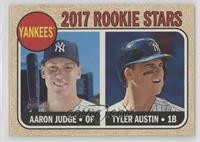 Rookie Stars - Aaron Judge, Tyler Austin (Base)