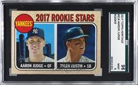 Rookie Stars - Aaron Judge, Tyler Austin (Base) [SGC 9 MINT]