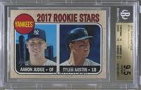 Rookie Stars - Aaron Judge, Tyler Austin (Base) [BGS9.5]