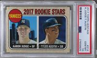 Rookie Stars - Aaron Judge, Tyler Austin (Base) [PSA 10 GEM MT]
