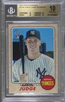 Aaron Judge (Rookie Action Variation) [BGS 10]