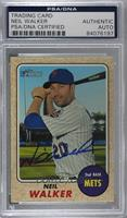 Neil Walker [PSA/DNA Certified Encased]
