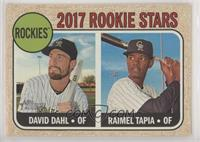 Rookie Stars - Raimel Tapia, David Dahl