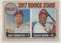 Rookie Stars - Roman Quinn, Jake Thompson