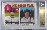 Rookie Stars - Robby Scott, Andrew Benintendi (Base) [BGS9.5GEM&nbs…