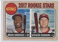 Rookie Stars - Brian Goodwin, Spencer Kieboom