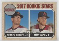 Rookie Stars - Braden Shipley, Matt Koch