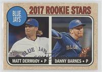 Rookie Stars - Danny Barnes, Matt Dermody
