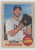 Clayton Kershaw (Glove at Shoulder) [EX to NM]