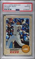 High Number SP - Anthony Rizzo (Action Image Variation) [PSA 10]
