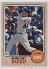 High Number SP - Anthony Rizzo (Action Image Variation)