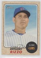 High Number SP - Anthony Rizzo (Color Swap Variation)