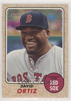 High Number SP - David Ortiz (Base)
