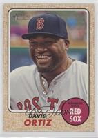 High Number SP - David Ortiz (Base)