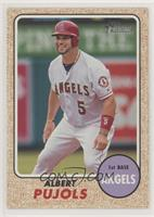 High Number SP - Albert Pujols (On the Bases)